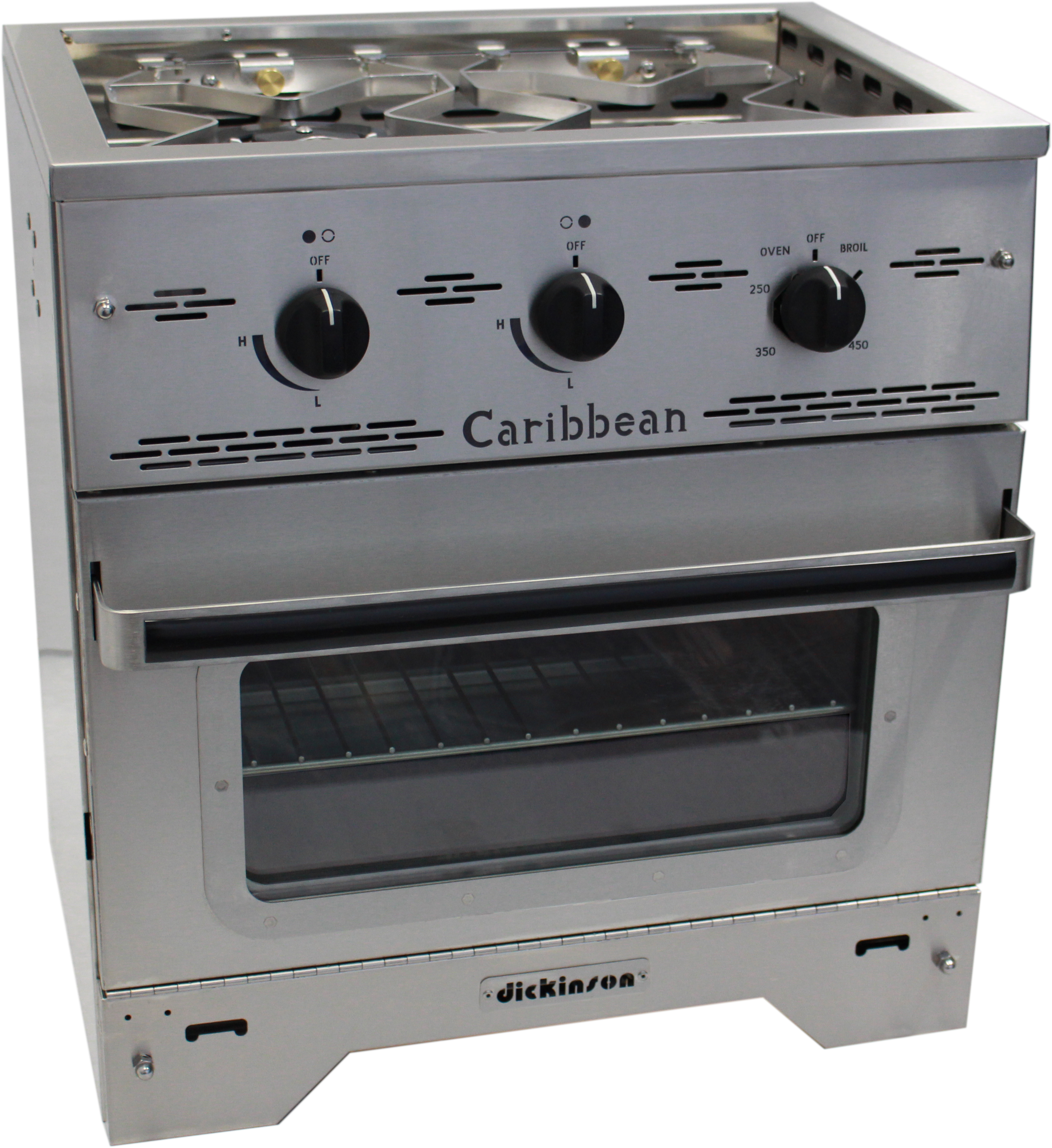 Used Vented Natural Gas Stove